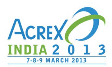 ACREX FAIR INDIA 7-8-9 MARCH 2013